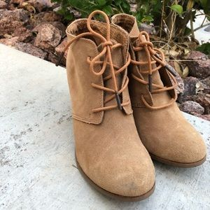 Toms Suede Women's Ankle Boots